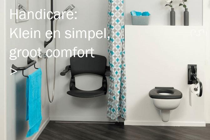 Veilige Badkamer Handicare comfort