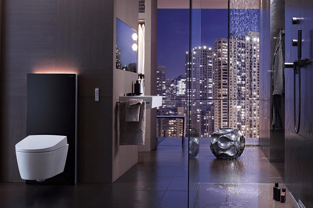 Geberit badkamer met toilet