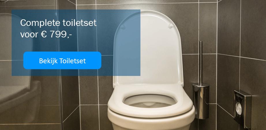 toilet compleet aanbieding