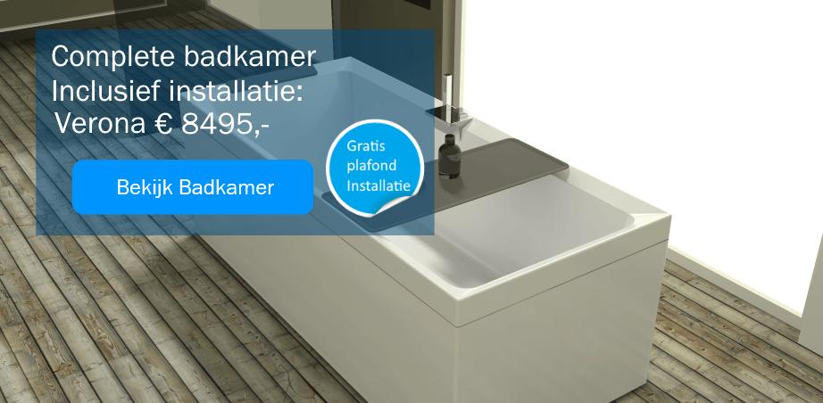 Complete badkamers met installatie verona