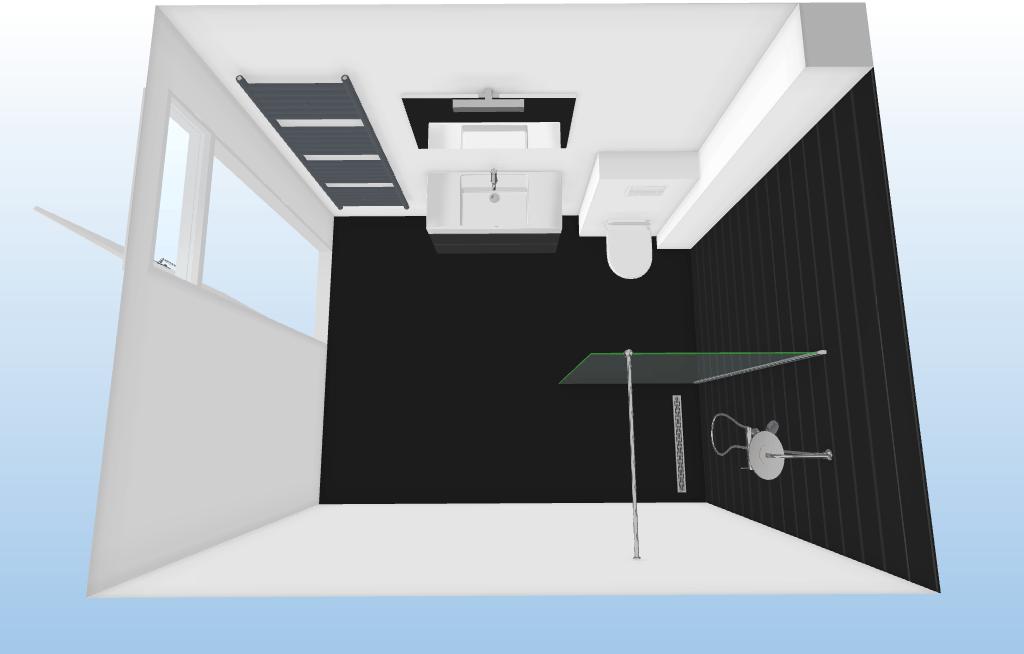 Rechthoekig Ontwerp Badkamer : Stijlvol strak en ruimtelijk deze badkamer is heerlijk