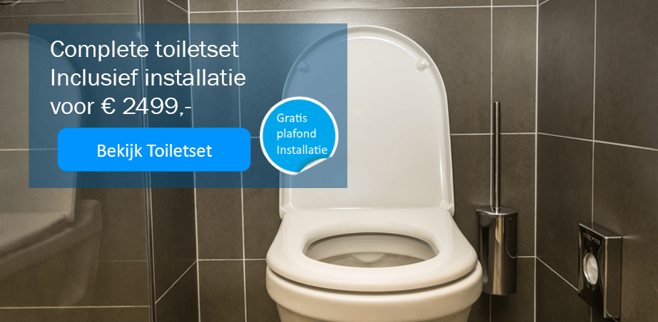 Toiletset inclusief € 2499